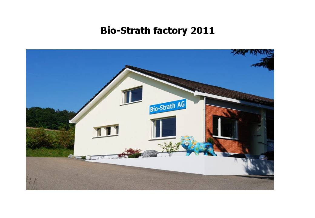 Strath is produced here at Herrliberg near Zurich