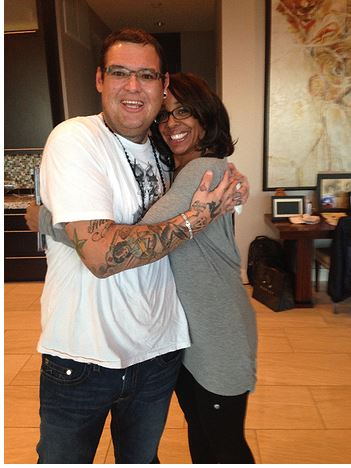 David Tuccaro Jr and Marala Scott Oprah's Ambassador for Hope