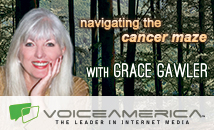 New on Voice America internet radio health and Wellness Channel: Grace Gawler