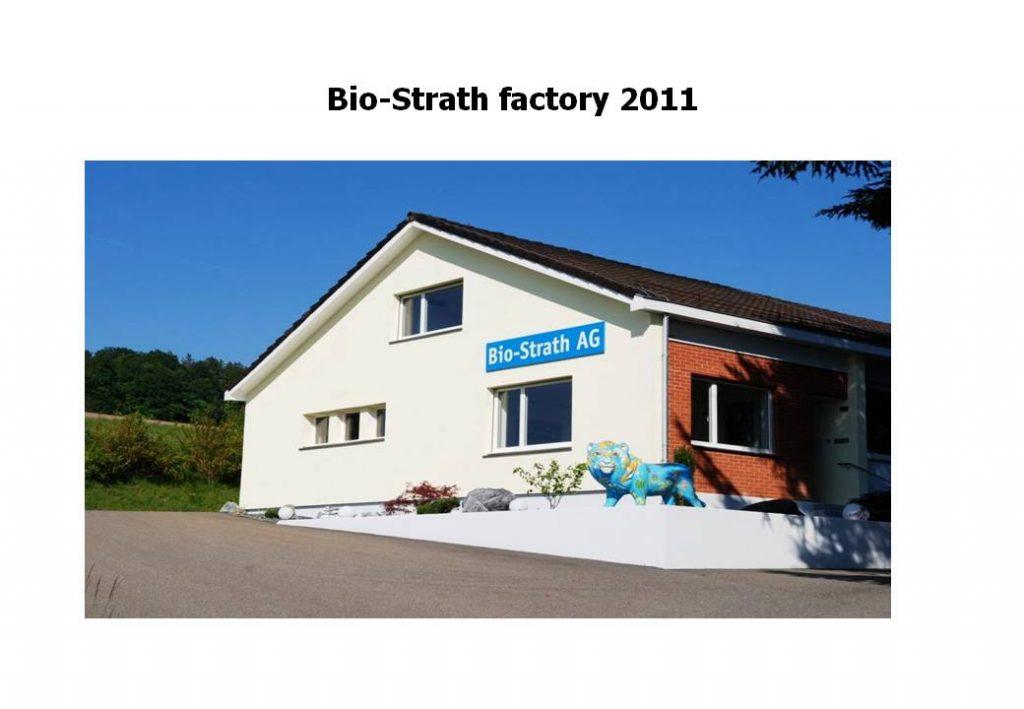 Strath is produced here at Herrliberg near Zurich