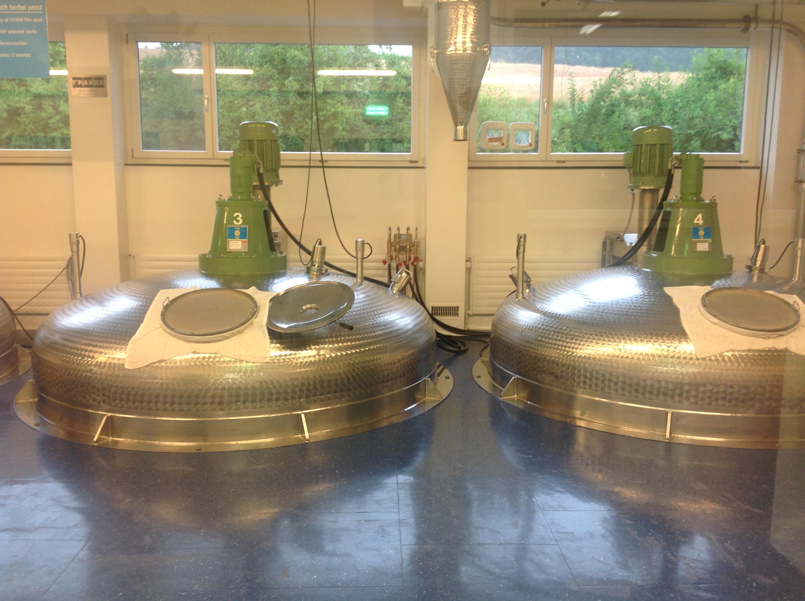 Strath fermentation vats  Herrliberg near Zurich