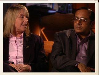 Dr Himanshu Brahmbhatt and Dr Jennifer MacDiarmid