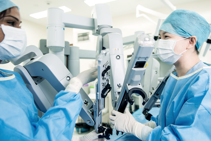 DaVinci robotic surgery technology