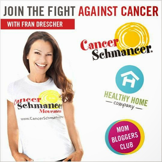 GRACE GAWLER AND FRAN DRESCHER CANCER SCHMANCER