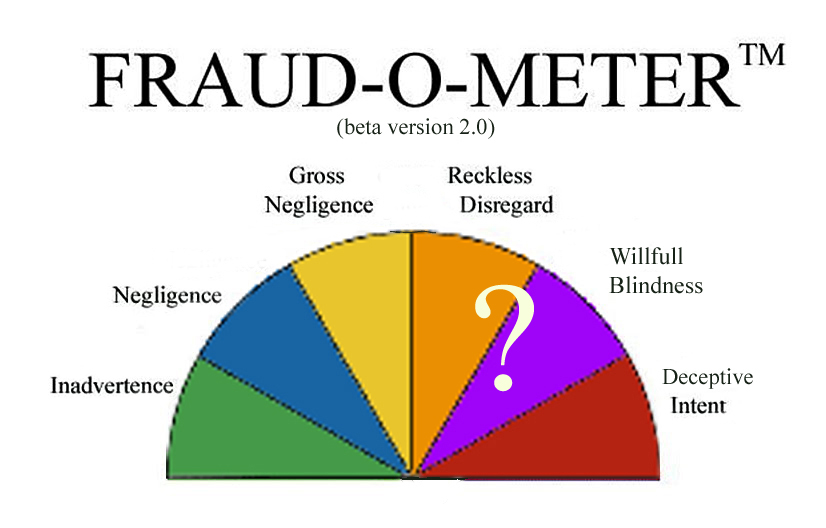 Keep your Fraud-o-meter active and Alert!