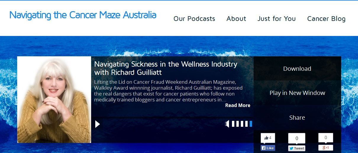 Navigating the Cancer Maze Australia podcasts for cancer patients